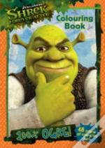 Shrek Forever After Colouring Book