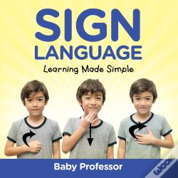 Wook.pt - Sign Language Workbook For Kids - Learning Made Simple