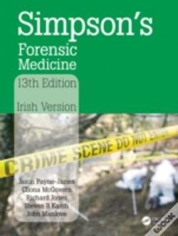 Wook.pt - Simpson'S Forensic Medicine, 13th Edition