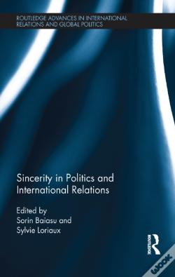 Wook.pt - Sincerity In Politics And International Relations