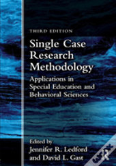 Single Case Research Methodology 3e