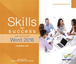 Wook.pt - Skills For Success With Microsoft Word 2016 Comprehensive