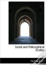 Social And Philosophical Studies