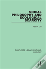 Social Philosophy And Ecological Scarcity