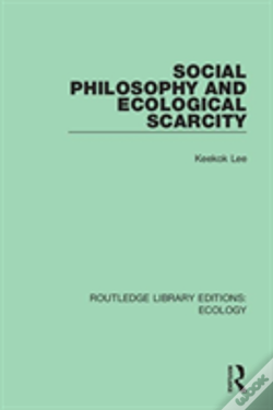 Wook.pt - Social Philosophy And Ecological Scarcity