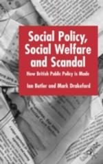Social Policy, Social Welfare And Scandal