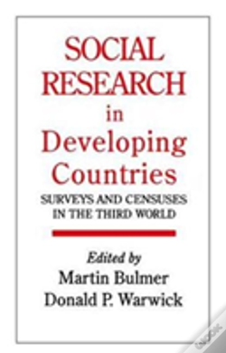 Wook.pt - Social Research In Developing Countries