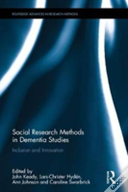Wook.pt - Social Research Methods In Dementia