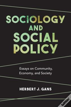 Wook.pt - Sociology And Social Policy