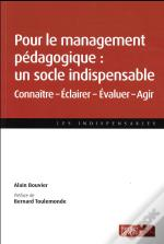 Socle Du Management Pedagogique