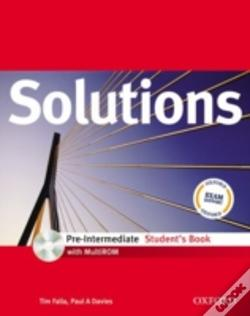 Wook.pt - Solutions: Pre-Intermediate: Student'S Book With Multirom Pack