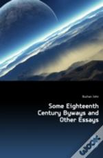 Some Eighteenth Century Byways And Other