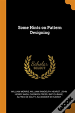 Some Hints On Pattern Designing