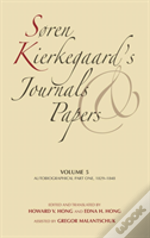 Soren Kierkegaard'S Journals And Papersautobiographical1829-1848
