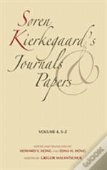 Soren Kierkegaard'S Journals And Paperss-Z