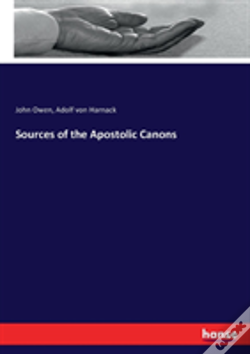 Wook.pt - Sources Of The Apostolic Canons