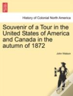 Souvenir Of A Tour In The United States