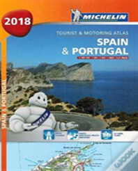 Spain & Portugal 2018 - Tourist And Motoring Atlas (A4-Spiral)