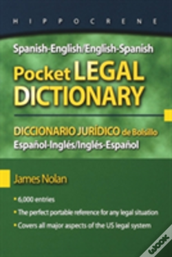 Wook.pt - Spanish-English/English-Spanish Pocket Legal Dictionary