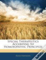 Special Therapeutics According To Homoeo