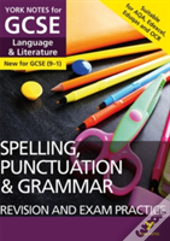 Spelling, Punctuation And Grammar Study Guide And Test Practice: York Notes For Gcse (9-1)