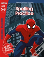 Spider-Man: Spelling, Ages 5-6