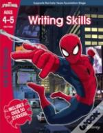 Spider-Man: Writing Skills, Ages 4-5