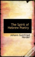 Spirit Of Hebrew Poetry