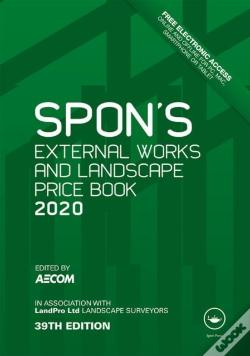 Wook.pt - Spon'S External Works And Landscape Price Book 2020