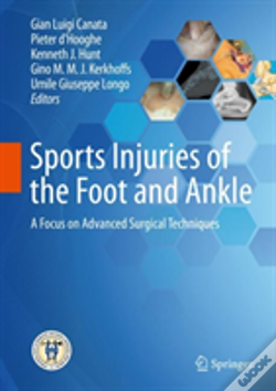 Wook.pt - Sports Injuries Of The Foot And Ankle