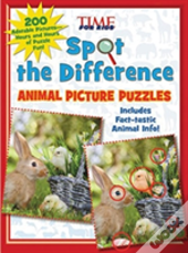 Spot The Difference Animal Picture Puzzl