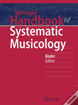 Wook.pt - Springer Handbook Of Systematic Musicology
