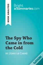 Spy Who Came In From The Cold By John Le Carre (Book Analysis)