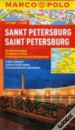 St Petersburg Marco Polo City Map
