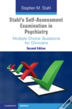 Wook.pt - Stahl'S Self-Assessment Examination In Psychiatry