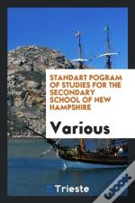 Standart Pogram Of Studies For The Secondary School Of New Hampshire
