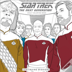 Wook.pt - Star Trek: The Next Generation Adult Coloring Book