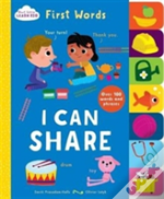 Start Little, Learn Big - Tabbed Board Book First Words, I Can Share