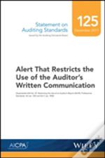 Statement On Auditing Standards, Number 125