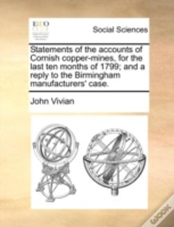 Wook.pt - Statements Of The Accounts Of Cornish Co