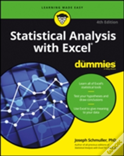 Wook.pt - Statistical Analysis With Excel For Dummies