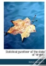 Statistical Gazetteer Of The State Of Vi