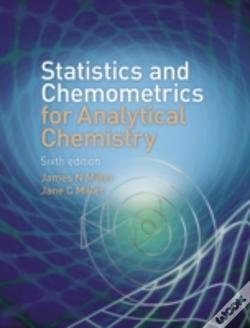 Wook.pt - Statistics And Chemometrics For Analytical Chemistry