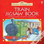 Steam Train Jigsaw Book
