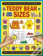 Sticker And Color-In Playbook: Teddy Bear Sizes