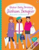 Sticker Dolly Dressing Fashion Designer Autumn Collection