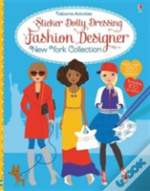Sticker Dolly Dressing Fashion Designer New York Collection