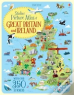 Sticker Picture Atlas Of Britain And Ireland