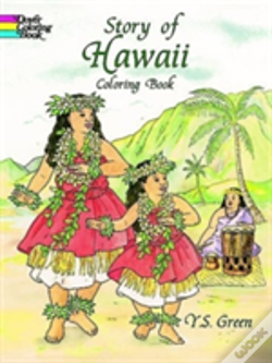 Wook.pt - Story Of Hawaii Colouring Book