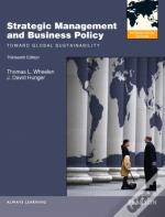 Strategic Management and Business Policy: Toward Global Sustainability: International Version